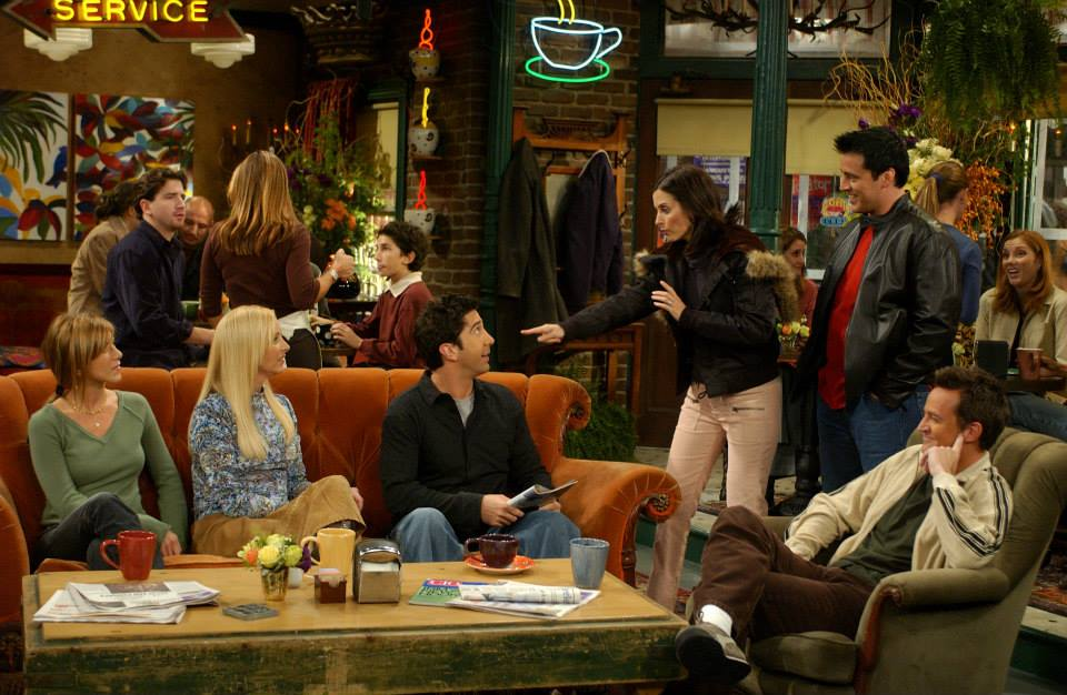 The Best Central Perk Moments From Friends Celebrity Toob